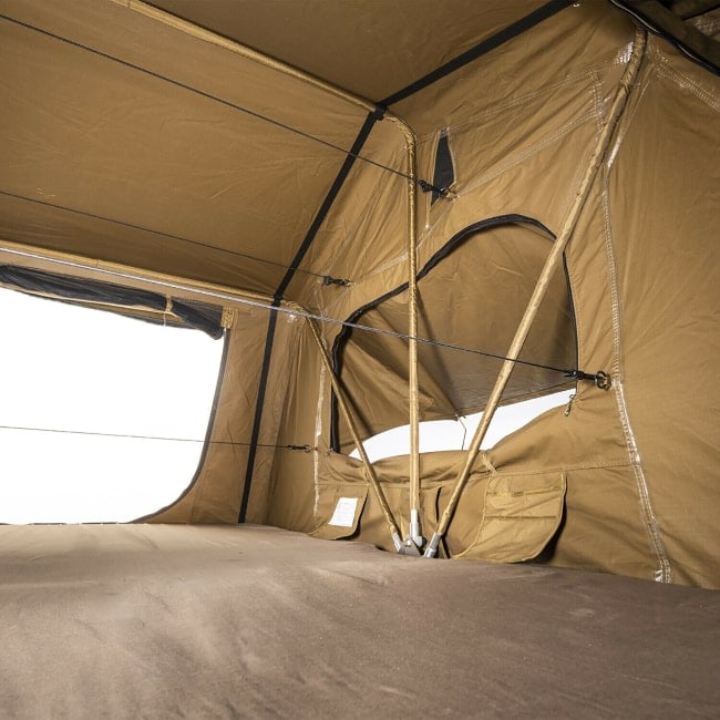 Kings roof top tent interior