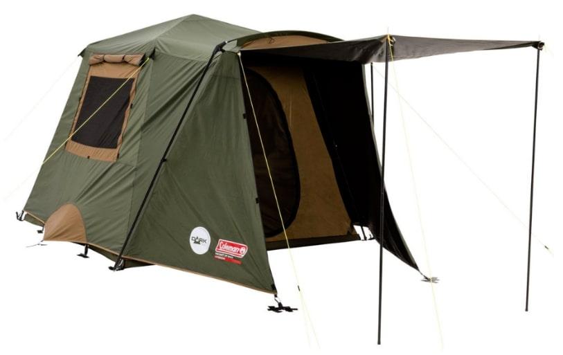 Coleman Northstar Instant Up 4 Lighted DarkRoom Tent
