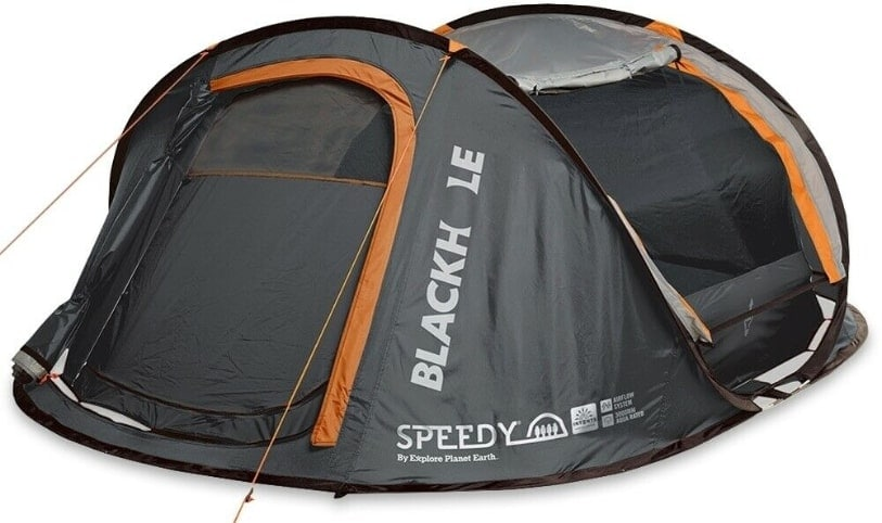 Explore Planet Earth Speedy Black Hole Pop Up Tent
