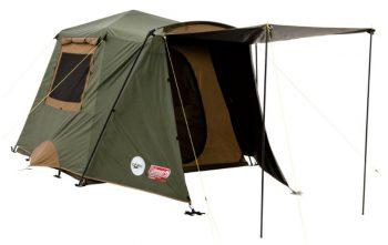 Coleman Northstar Instant Up 4 Lighted Dark Room Tent