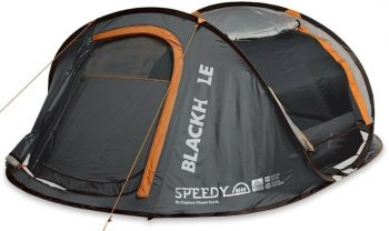 Explore Planet Earth Speedy 4 Black Hole Pop Up Tent