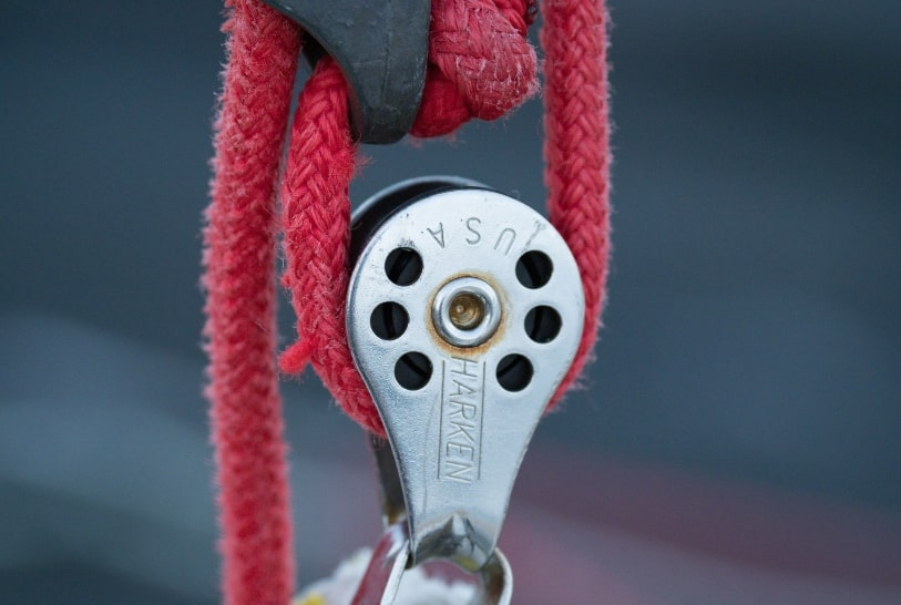 Pulley for RTT storage