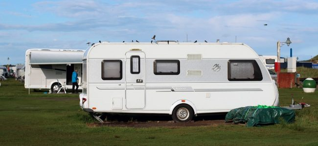 Caravan Parked