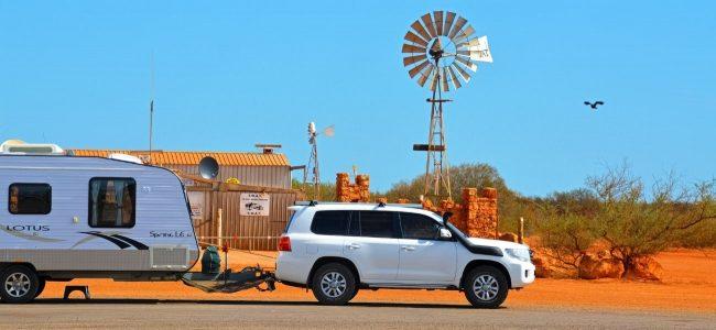 Caravan Outback Australia
