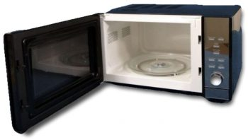 Sphere Microwave With Mirror Finish